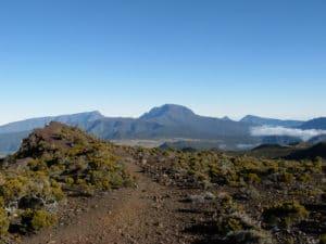 Vue sur le Piton des neiges, Île de La Réunion