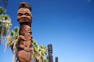 Totem Kanak, Nouvelle-Calédonie