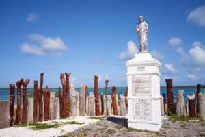Statue totems, île des Pins, Nouvelle-Calédonie
