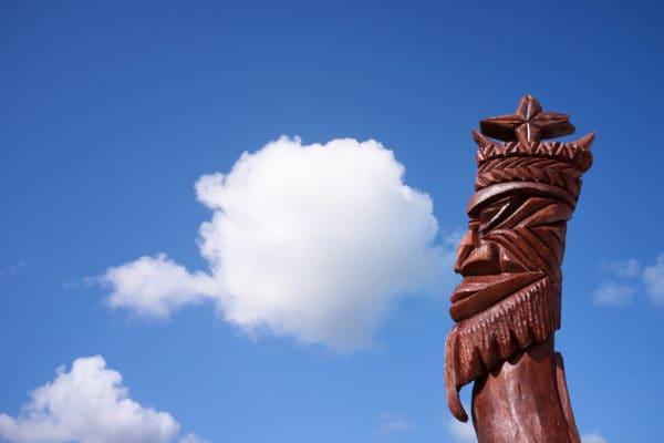 Totem, île des Pins, Nouvelle-Calédonie