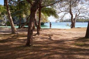Baie, île des Pins, Nouvelle-Calédonie