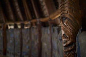 Totem, Centre culturel Tjibaou, Nouméa, Nouvelle-Calédonie - Raphaël Mezzapesa